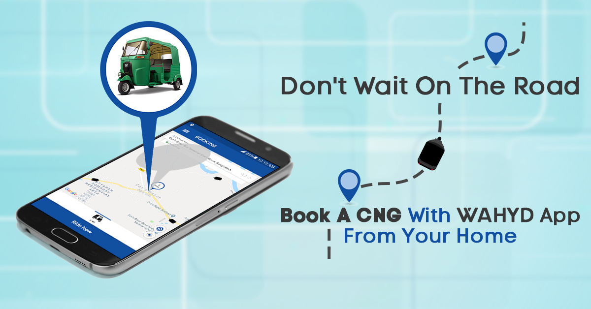 Wahyd CNG booking app