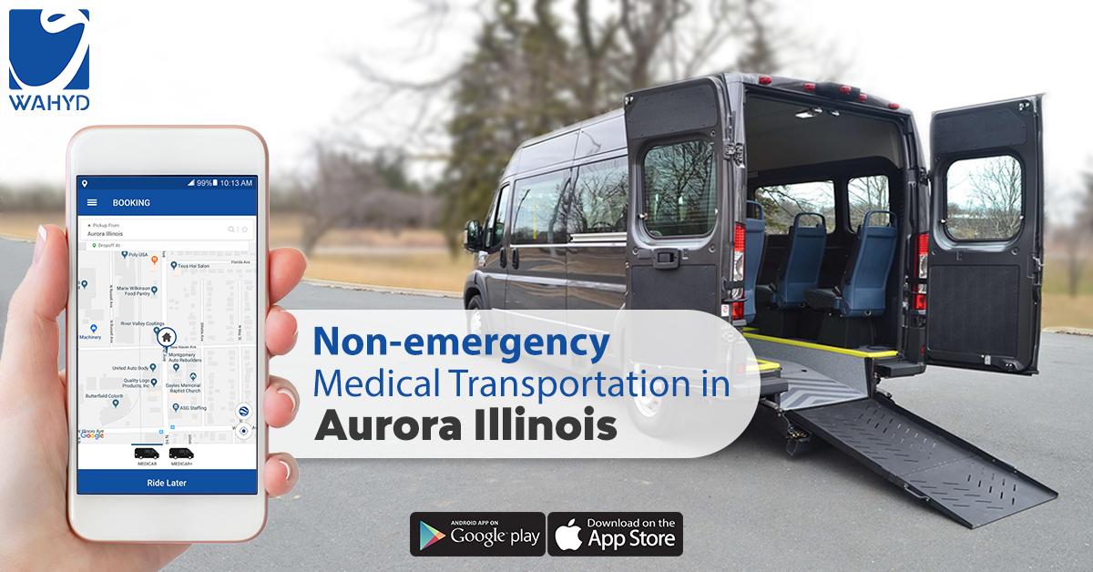 Non-Emergency Wheelchair Transportation In Aurora Illinois