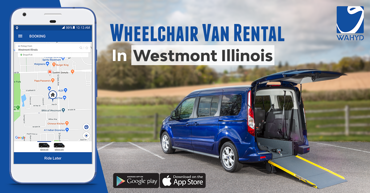 Wheelchair Van Rental in Westmont Illinois