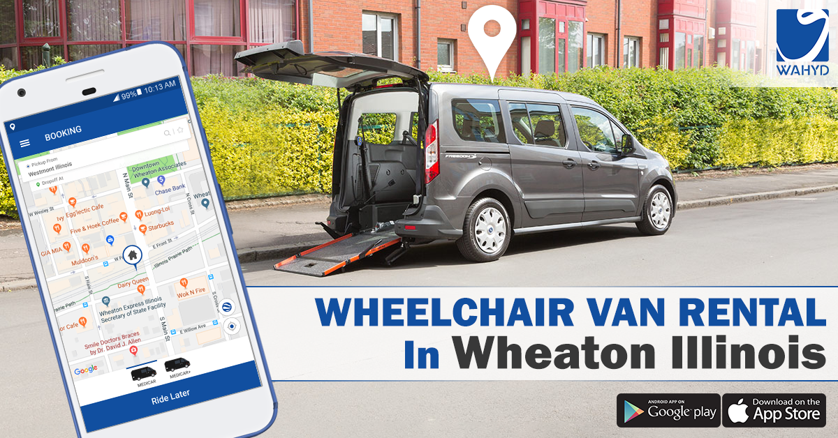 Wheelchair Van Rental in Wheaton Illinois