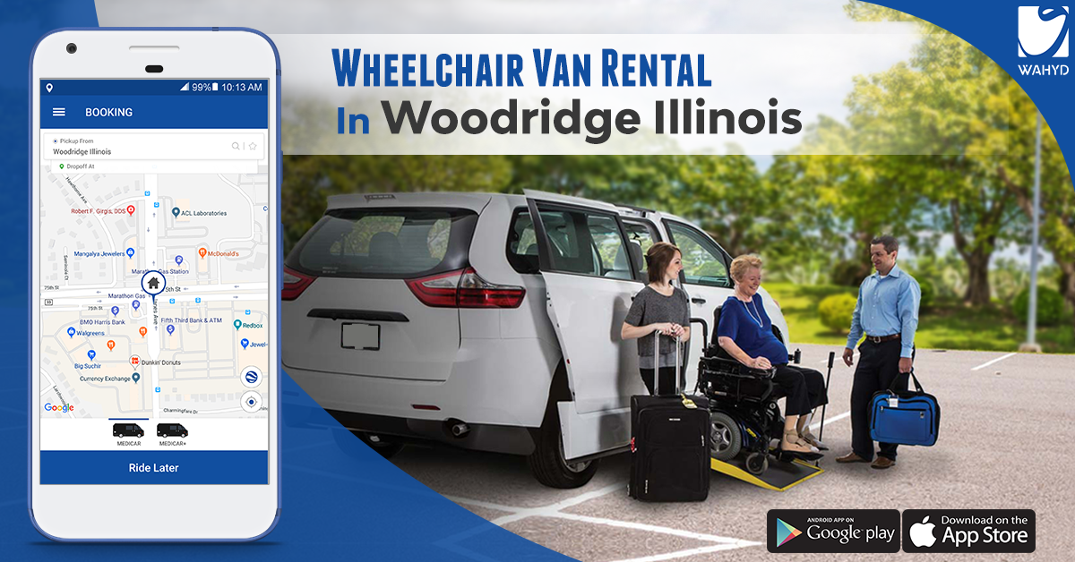 Wheelchair Van Rental In Woodridge Illinois