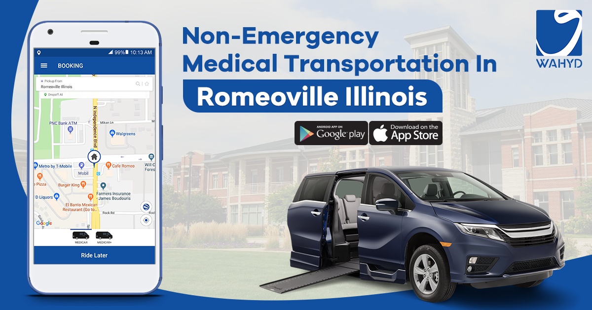 Non-Emergency Medical Transportation in Romeoville Illinois