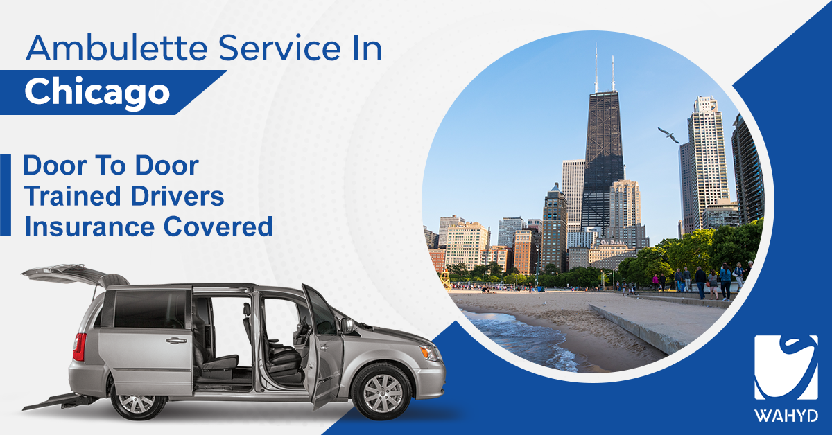 Wahyd App Offering Easy Ambulette Service in Chicago
