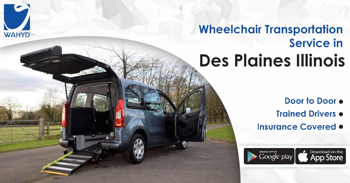 Wheelchair Transportation Service in Des Plaines Illinois