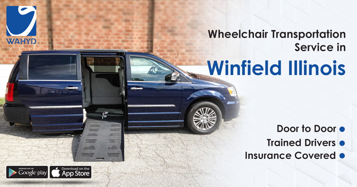 Wheelchair Transportation Service in Winfield Illinois