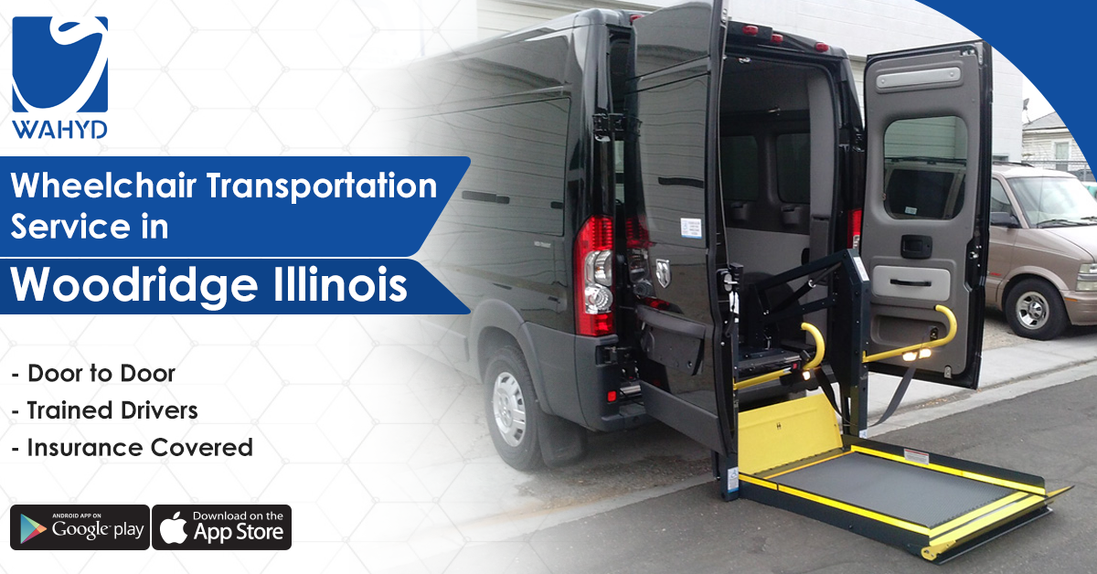 Wheelchair Transportation Service in Woodridge Illinois