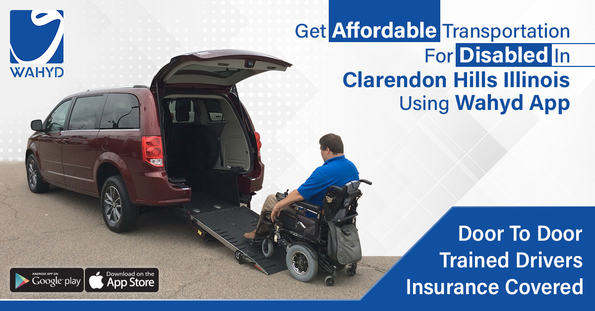 Transportation for Disabled in Clarendon Hills Illinois