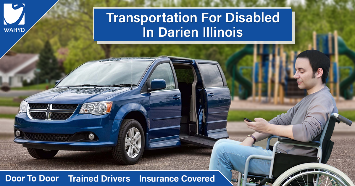 Transportation for disabled in Darien Illinois