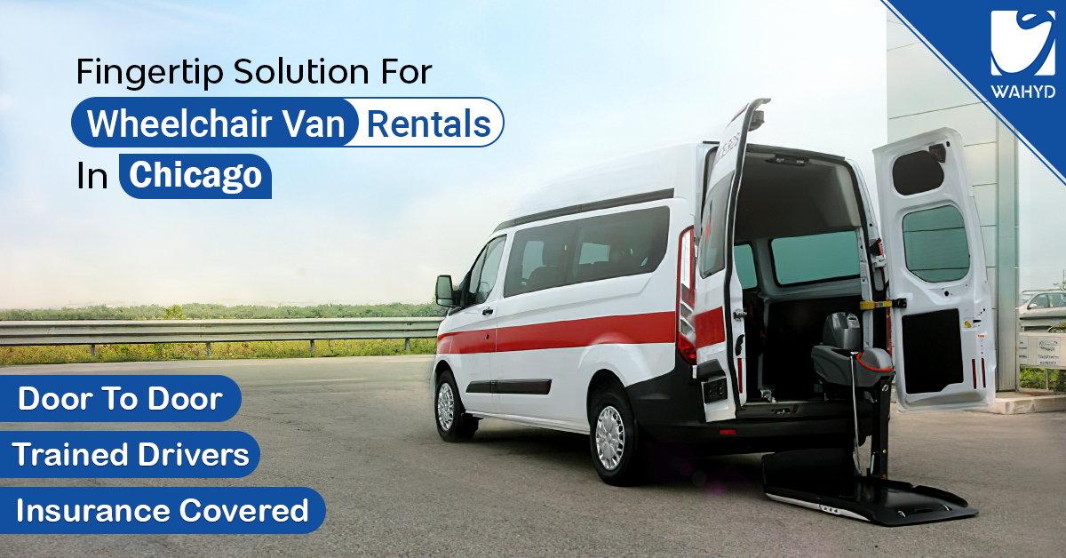 Wheelchair van rentals in Chicago